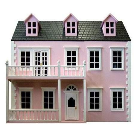 Casa de muñecas CALISTOGA semi montada - Rosa