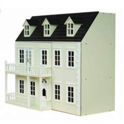 Casa de muñecas CALISTOGA semi montada - Crema