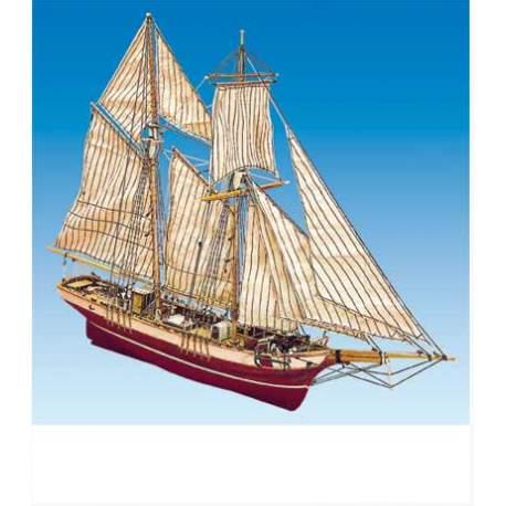 Maqueta Naval Goleta LA ROSE 1/47