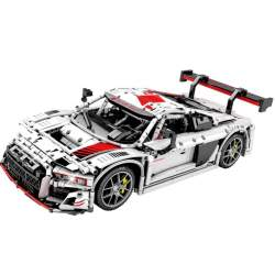 Construcción de bloques Coche Audi Sport R8 1/10 TECHINQUE