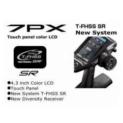 Emisora T7PX 7ch 2.4GHz T‐FHSS Super Response SR - Futaba