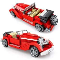 Construcción de bloques, Classic Car Technic Red - SEMBO