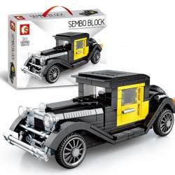 Construcción de bloques, FAMOUS CAR 1920 CLASSIC - SEMBO