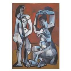 Puzzle Mujeres en el Baño 1000 pzs, Picasso - Ricordi