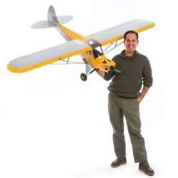 "Avión Carbon Cub 15cc ARF, 90"" - Hangar 9"