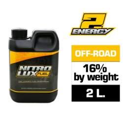 Combustible RC, ENERGY 16% (2 L.) Nitrolux
