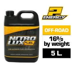 Combustible RC, ENERGY 16% (5 L.) Nitrolux