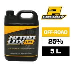 Combustible RC, ENERGY 25% (5 L.) Nitrolux