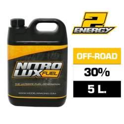 Combustible RC, ENERGY 30% (5 L.) Nitrolux