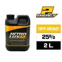 Combustible RC, ENERGY2 25% (2 L.) Nitrolux
