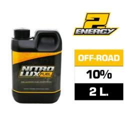 Combustible RC, ENERGY2 10% (2 L.) Nitrolux