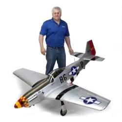 Avión P-51D Mustang 60cc ARF, 1/5 - Hangar 9