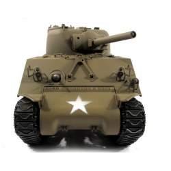 Tanque RC Sherman M4A3 (75) 1/16 Completo de METAL Airsoft 2.4G Verde Army cadenas T49 - Mato Toys