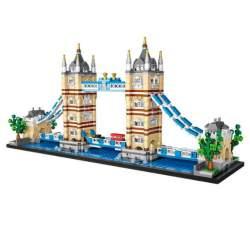 Construcción de bloques, Tower Bridge 1026 piezas Mini - Loz