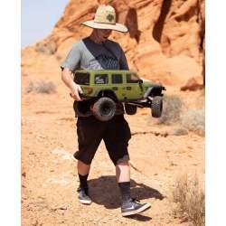 Rock Crawler 1/6 SCX6 Jeep JLU Wrangler 4WD RTR, Green - Axial