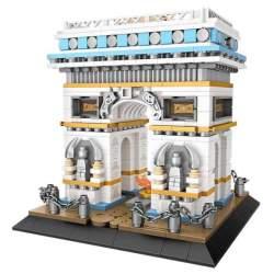 Construcción de bloques, Arco del Triunfo 1028 piezas - Loz