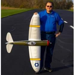 """Avión P-47 Thunderbolt PNP, 58.4"""" - Hangar 9"""