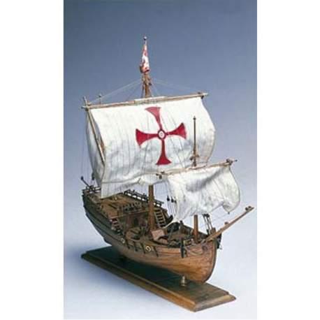 Maqueta naval La Pinta de Amati 1:65