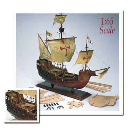 Maqueta naval Santa Maria 1:65 de Amati