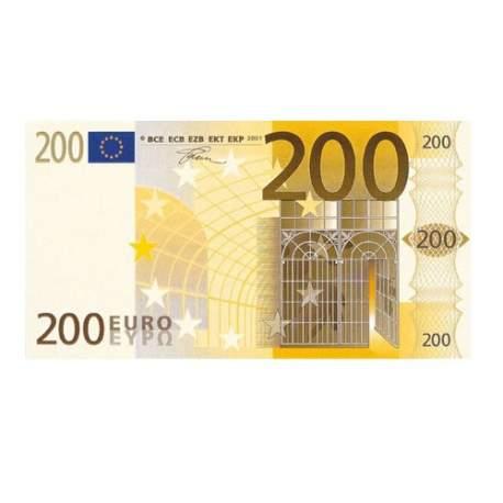 Pago de 200 euros