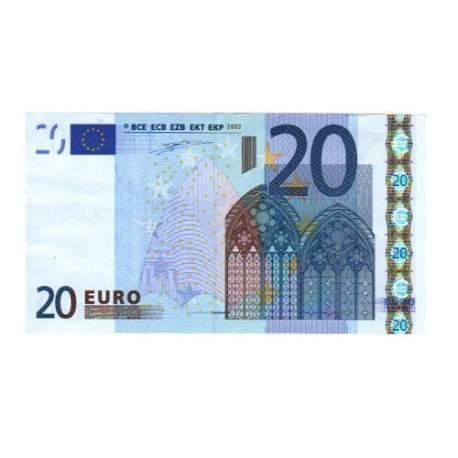 Pago de 20 euros