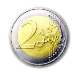 Pago de 2 euros