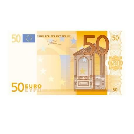 Pago de 50 euros
