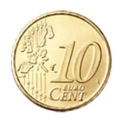 Pago de 0.10 euros