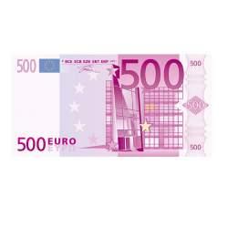 Pago de 500 euros