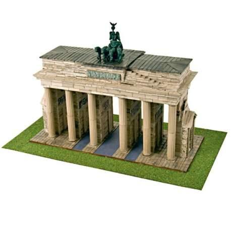 Puerta de Brandenburgo maqueta de construccion Cuit