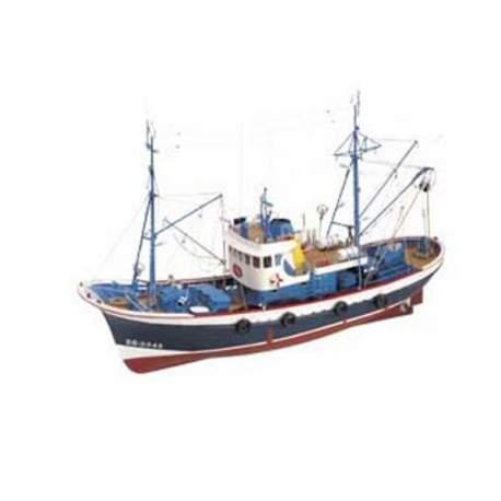 Maqueta naval Marina II, botinero Cantábrico 1:35