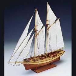 Maqueta naval pailebote Carmen 1:80 Constructo