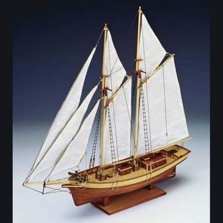 Maqueta naval Carmen, pailebote 1:80