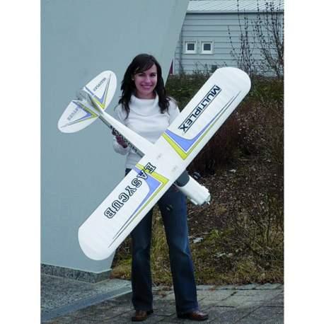 Avión RC eléctrico Multiplex Combo BK EasyCub 40 MHz