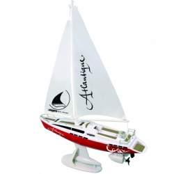 Velero Atlantique Segelboot rc 2 canales Jamara