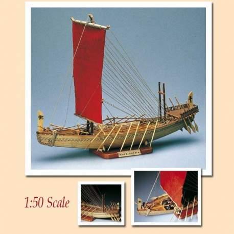 Maqueta naval Nave Egipcia 1:50 Reinado de Sahure Amati Modelismo