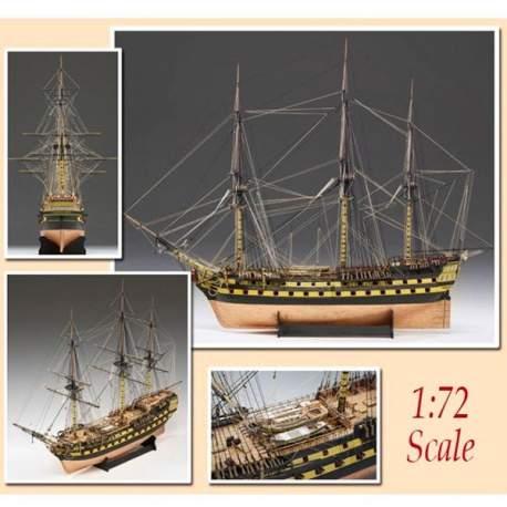 H.M.S. Vanguard 1787 1:72 Victory Models Amati