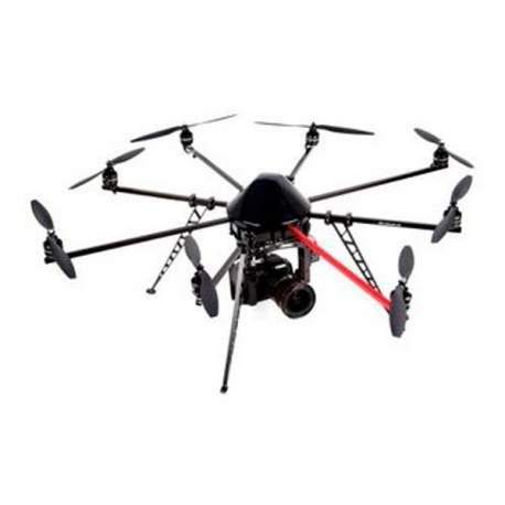 Multirrotor MIKROKOPTER XL8 MK Okto XL listo para volar