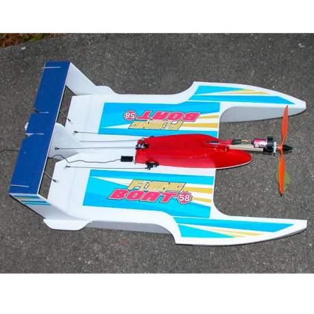 Lancha Walkera RC Flying Boat 058 para volar sobre el Agua, Aire, Tierra