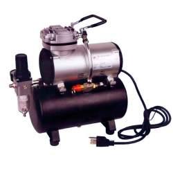 Compresor AS-186 con calderin y manómetro D-80