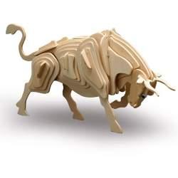 Maqueta Toro para montar de madera de contrachapado (CONSULTAR DISPONIBILIDAD)