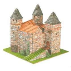 Castillo Burgen Nº 5 STOLZENECK 1:87 para construir Domus Kits