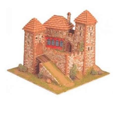 Castillo Burgen Nº 6 Coreva1:65 para construir Domus Kits