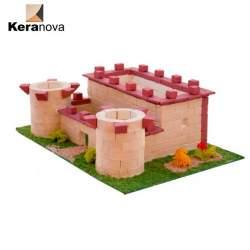 Kit maqueta castillo nº 3 de piedra para montar. Infantil Keranova