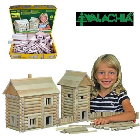 "Walachia Manualidad infantil en madera ""Vario Masive"" 209 piezas"