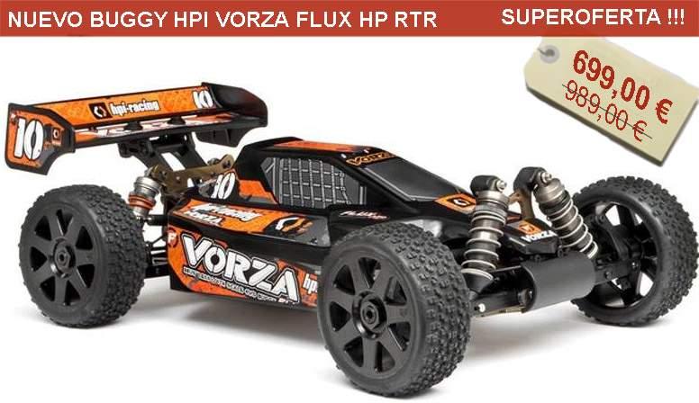 Nuevo Buggy HPI VORZA FLUX HP RTR (2.4GHZ)
