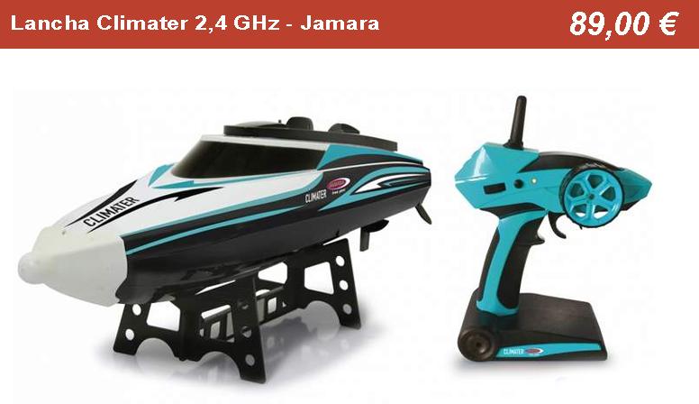 Lancha Climater 2,4 GHz - Jamara